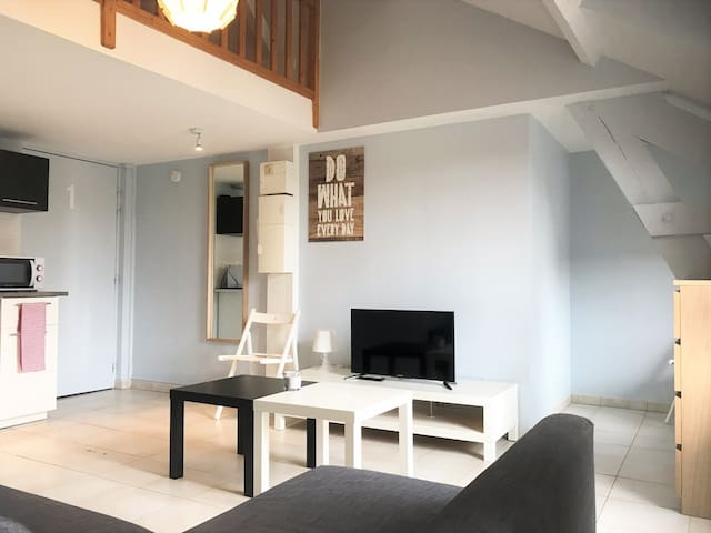 Appartement studio en duplex - ETAMPES