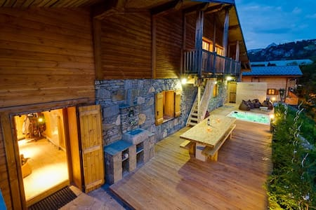 Chalet Soho in Les Brévières, Great for Groups!