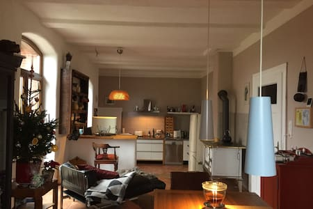 Nice Rooms in modernized house on the country side - Nordsehl - 独立屋