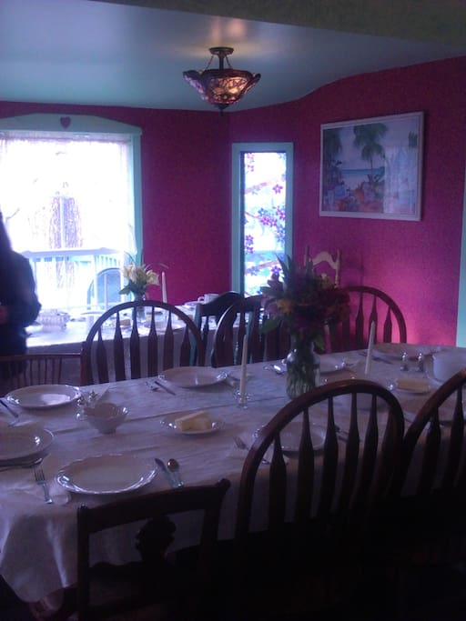 dining room for you to use
