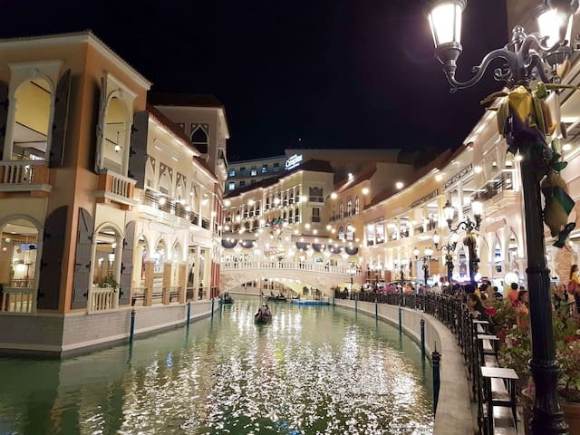 Take some walk to Venice Grand Mall. Just 3 minutes walk away from the property