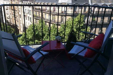 NEAR CHAMPS ELYSEES STUDIO BALCONY