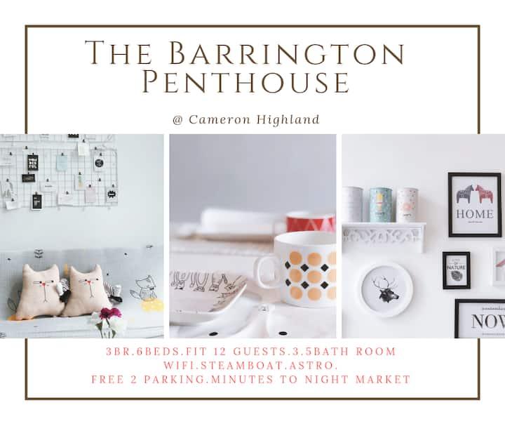 3BR The Barrington Penthouse@Cameron★ Night Market