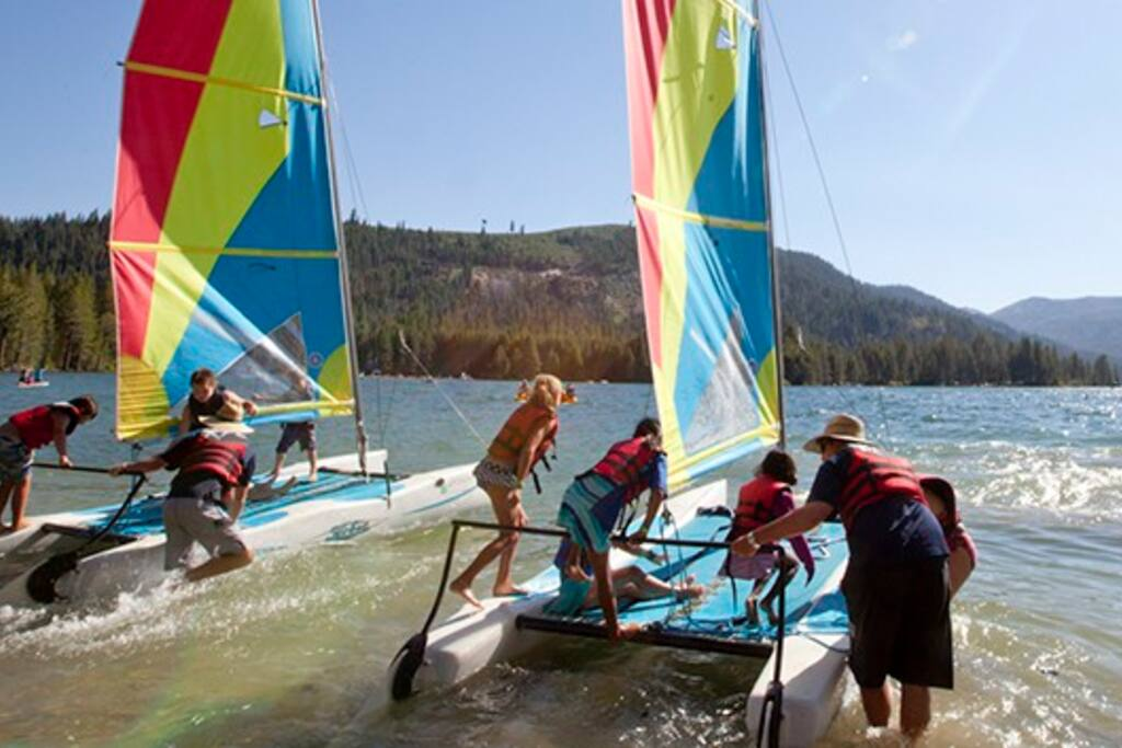 Go Sailing on Lake Donner