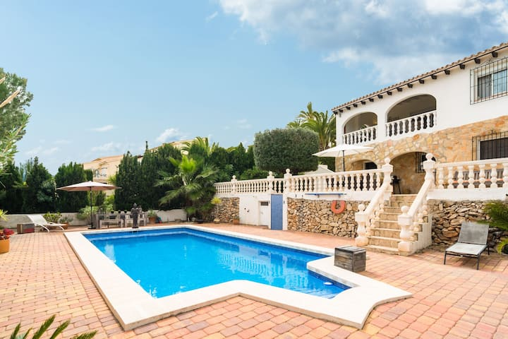 Gorgeous Villa in Moraira with Private Swimming Pool