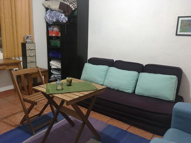 Habitación  loft para cómoda estancia en Cd México
