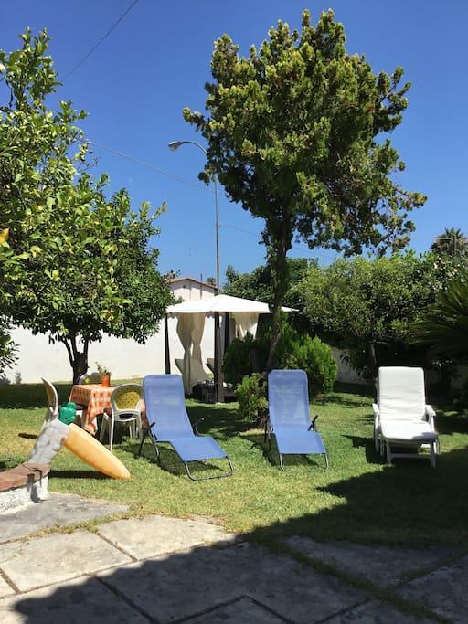 Visuale giardino.