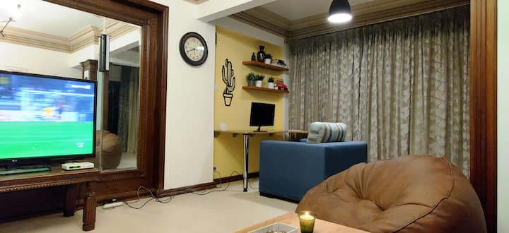 Stylish room for foreigners. Very close to Zamalek