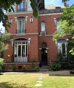 Charmante maison de famille à 15mn de Paris - Enghien-les-Bains