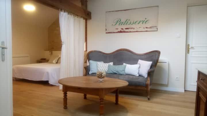 Chambre avec Sauna et baignoire à remous privatifs