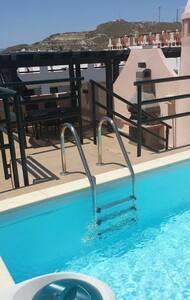 Ático piscina privada próximo a mar - Vera Playa - Wohnung