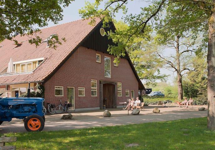Uniek landgoed in de natuur nabij Ootmarsum - Hezingen - Apartamento