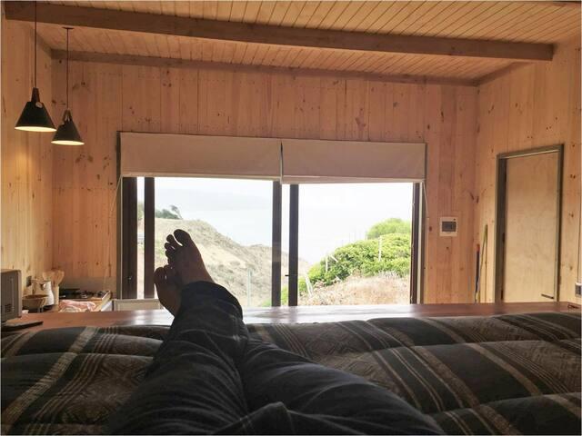 Cabaña tipo Loft con inmejorable vista al mar