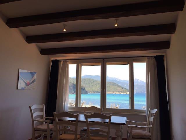 Appart direct beach access  - Scaglieri - Appartement
