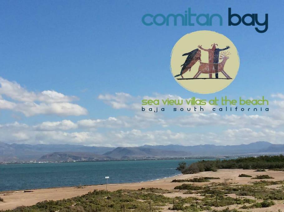 COMITAN BAY Sea View Villas at the Beach - La Paz, Baja California Sur, MEXICO