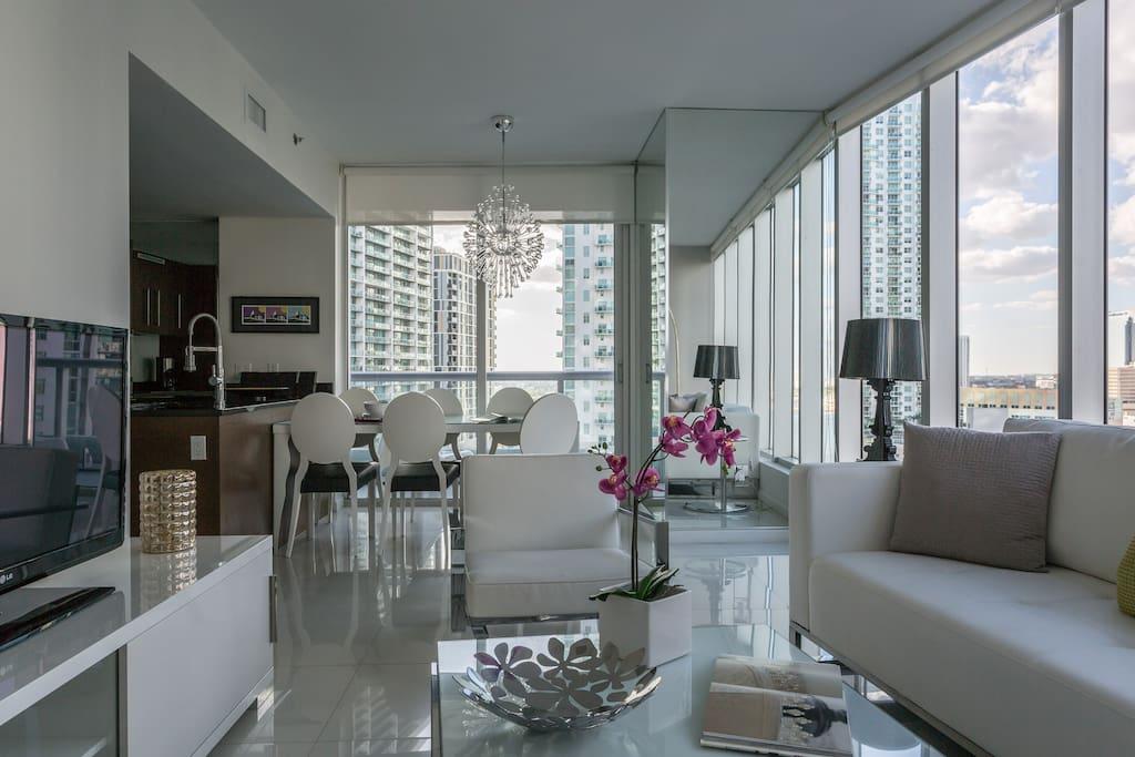 Icon Brickell W Hotel 2be 2ba Dream Pad Serviced Flats
