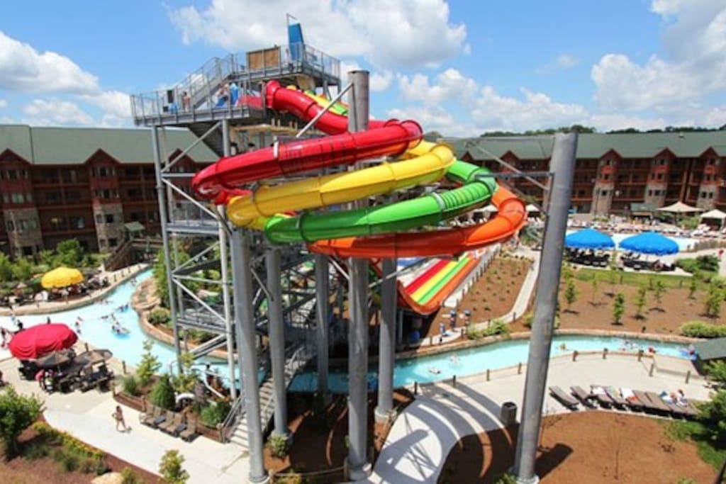 The Water Park outside section