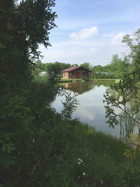 Cabana aconchegante no campo