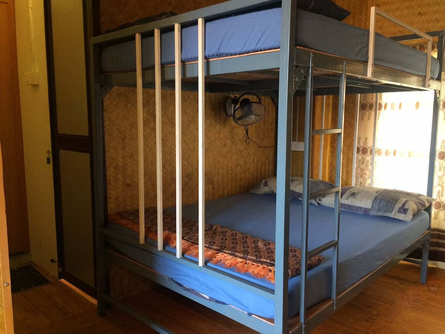 Double Beds Close view