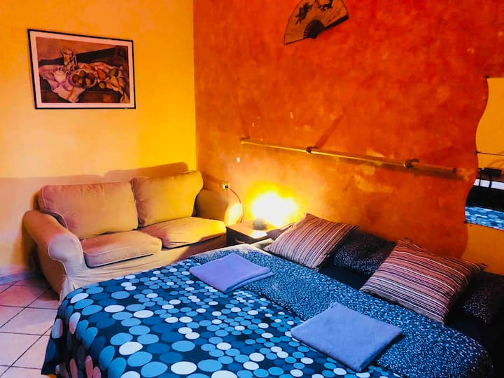 Cozy home- Private room in Rome city center