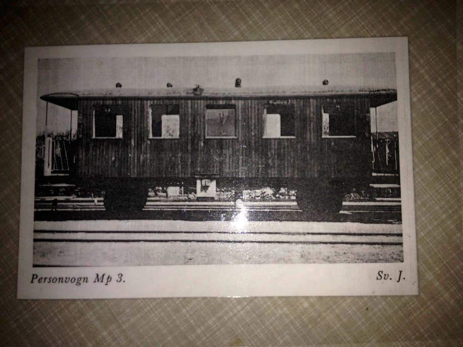 the Original train wagon from 1937