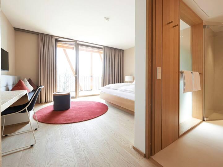 Hotel bora HotSpaResort, (Radolfzell am Bodensee), Komfort Zimmer 25,2 m²