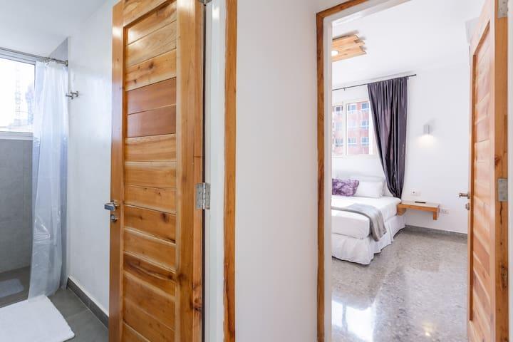 Baño 2 y Habitación 3.