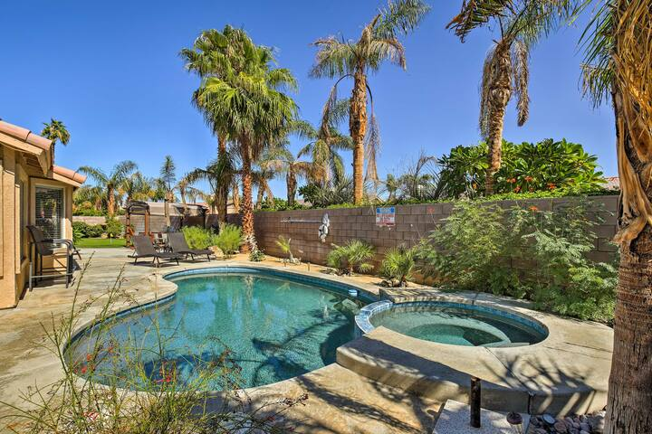 NEW Private Desert Oasis w/Pool, Spa & Golf Course