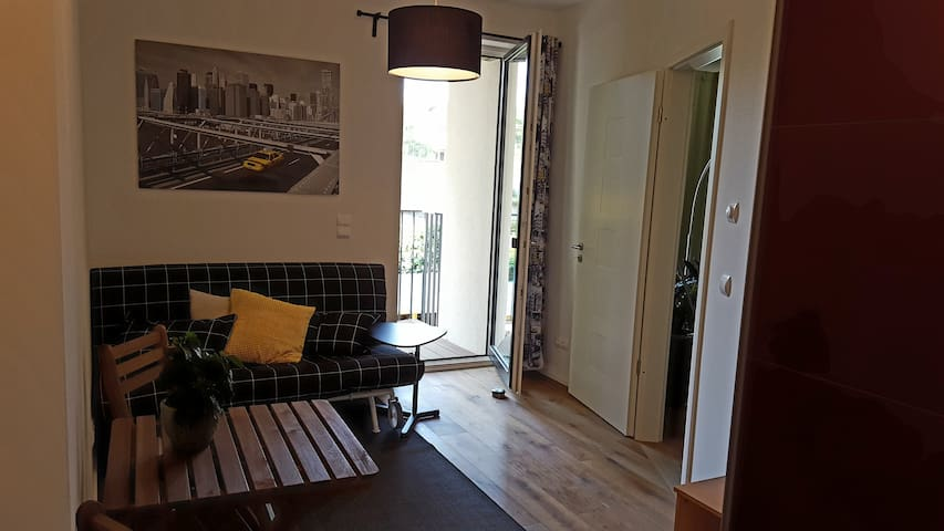 Privat room only 15 min. away from Alexanderplatz - Berlijn - Appartement