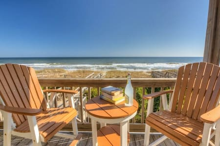 Little House on the Beach - Kure Beach - Casa