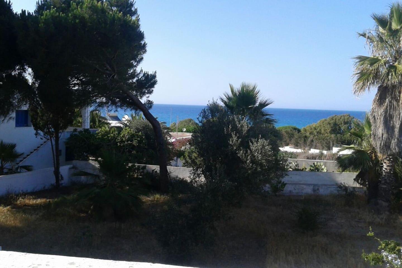 La villa avec une vue Mer toute la journée en étant a l 'Intérieur