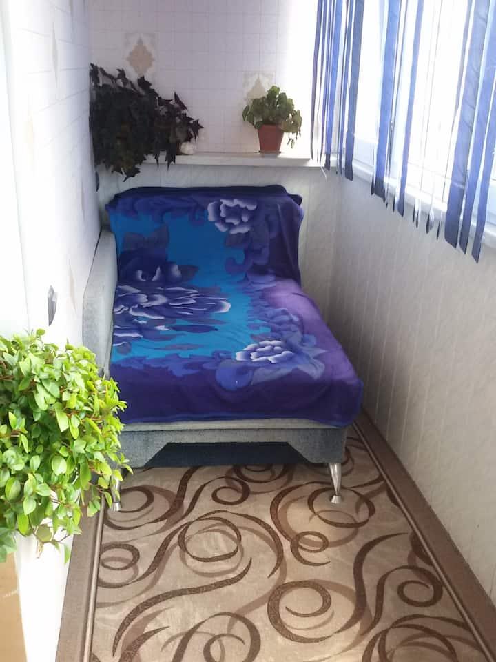 своя уютная однокомнатная квартира