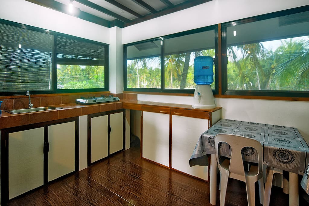 Combines Kitchen / Dining