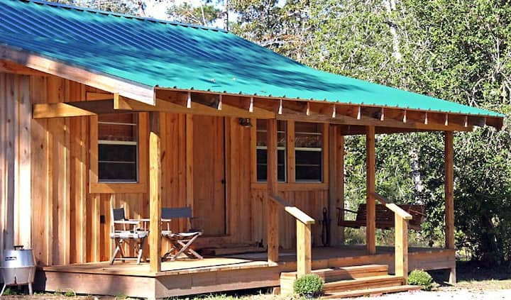 Deer Run, a rustic private cabin getaway