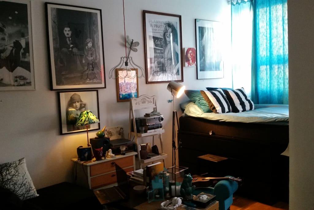 Main living area/bedroom