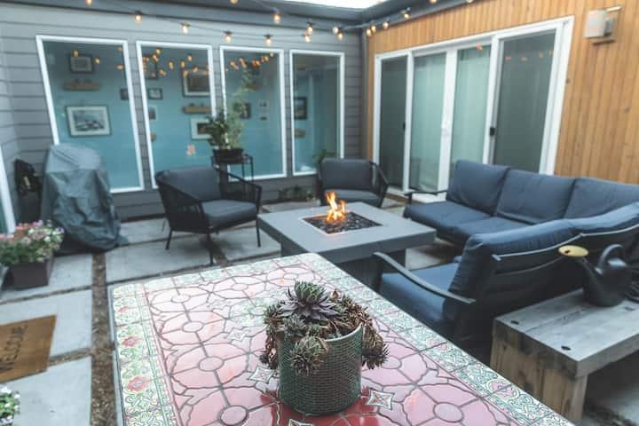 Modern Studio w/ Patio in Quirky Kenton