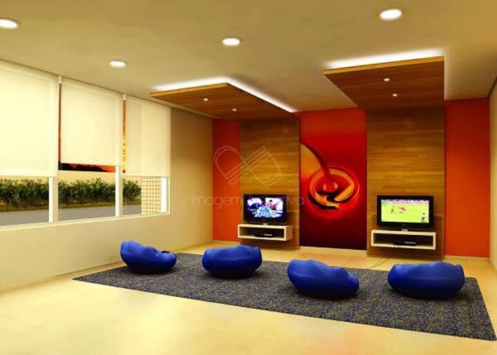 Confortável apartamento na Ponta Negra.