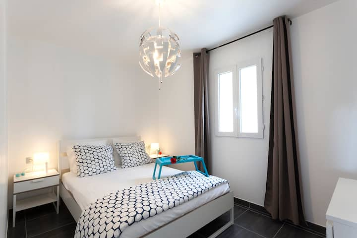 Appartement cosy neuf avec une belle terrasse