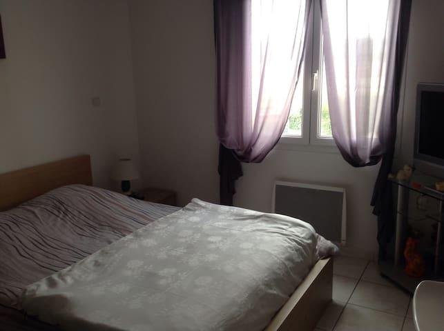 2 chambres individuelles belle vue - Saint-Laurent-des-Arbres - Talo
