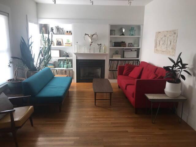 Sunny spacious 2 BR near Porter/ Davis/ Harvard sq