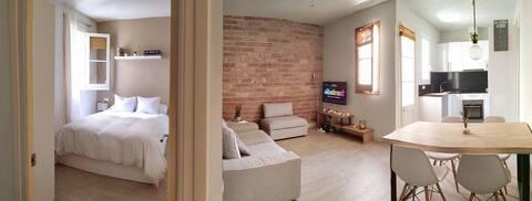 Cozy room next to Sagrada Familia