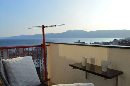 Liburana apartment, a spectacular sea view balcony - Fiume