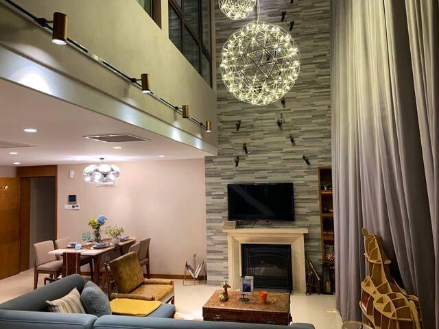 冬奥会指定雪场-云顶密苑-飞翔的艺术滑进滑出二居至尊豪华家庭温馨公寓