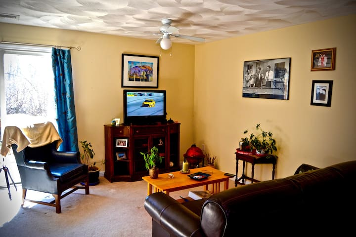 2 bedroom townhouse with 1.5 baths