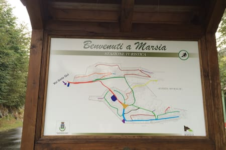 Piccola Mansarda a Marsia Tagliacozzo - Lägenhet