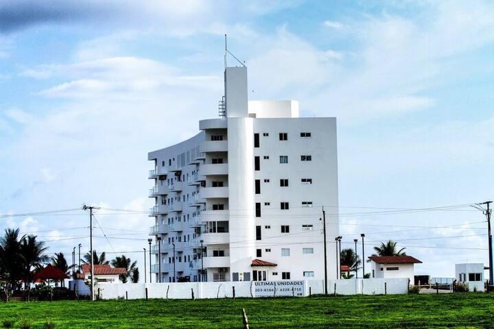 Apartamento con frente a playa la Barqueta