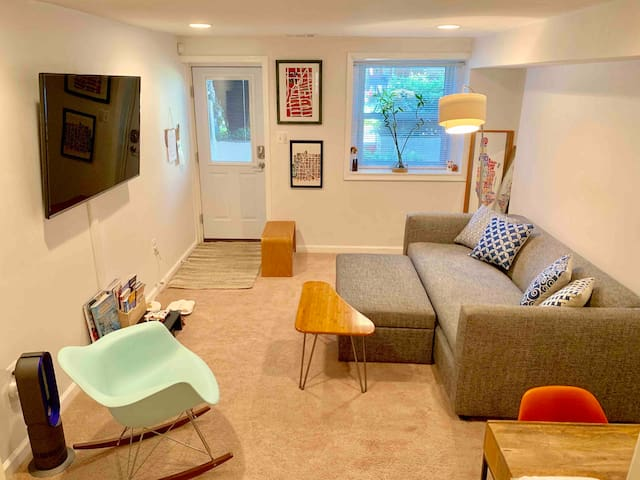 DC Top-rated 1BR English Basement with laundry