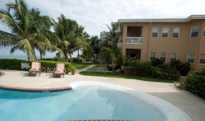 Beachfront Poolside Condo