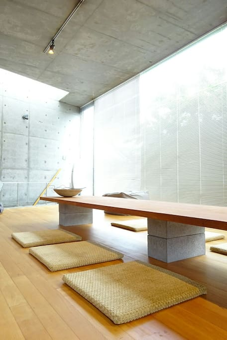 Modern Kyoto style living room.