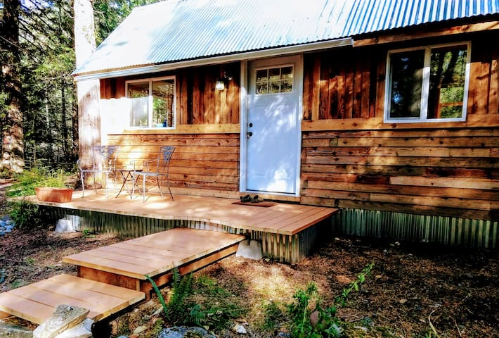 *Remodeled* Tiny Cabin - 1 mile to Mt. Rainier!